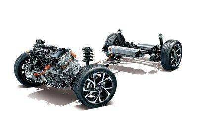Lexus LX 2022 sẽ được phát triển trên nền tảng TNGA-F dạng bậc thang.