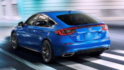 Honda Civic 2022 Hatchback năng động và đa dụng.