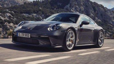 Siêu xe thể thao Porsche 911 GT3 Touring 2022 chào giá gần 4 tỷ đồng.