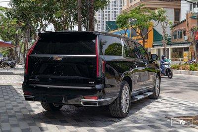 Ngắm Cadillac Escalade ESV 2021 bản máy to và nội thất nhiều điểm mới so với xe đã về Việt Nam trước đó  a6