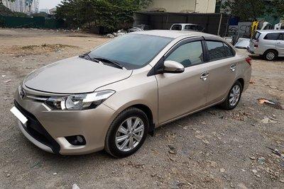 Toyota Vios Limo 2016.