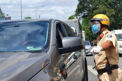 TP.HCM tạm dừng tiếp nhận hồ sơ đăng ký mới, xe chưa đăng ký cố tình lưu thông vẫn bị xử phạt 1