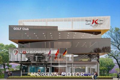 Showroom và khu dịch vụ sắp khánh thành tại Hà Nội.