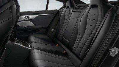 BMW 8-Series Frozen Black Edition đảm bảo sự thoải mái của người dùng.