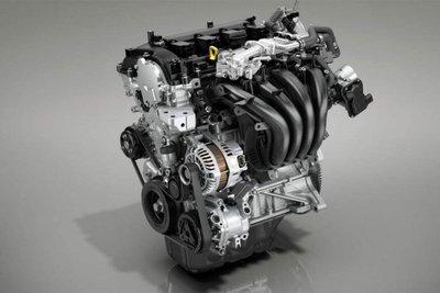 động cơ xăng Skyactiv-G 1.5L được cải tiến áp dụng công nghệ Diagonal Vortex Combustion.