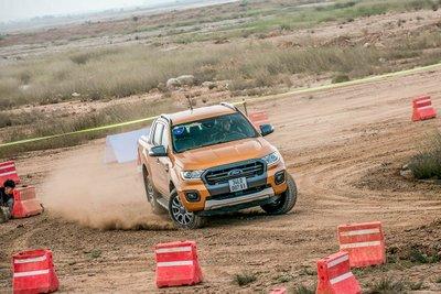 Ford Ranger Wildtrack.