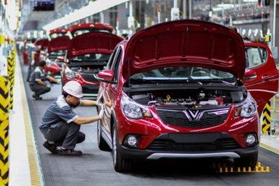 Quy mô thị trường ô tô Việt Nam mới chỉ bằng 1/3 của Thái Lan và 1/4 của Indonesia.