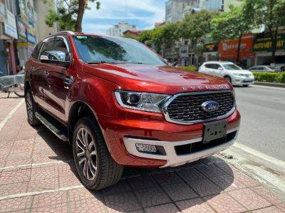 """Ford Everest 2021 bản """"full option"""" mới chạy lướt 300km rao bán lỗ """"bay"""" ngay 200 triệu đồng a1"""