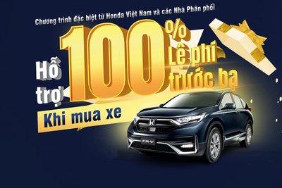 Honda CR-V 2021 đang được đại lý ưu đãi giảm giá dao động từ 100-115 triệu đồng.