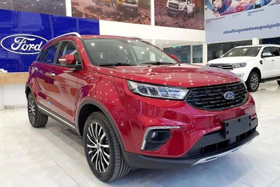 Ảnh thực tế Ford Territory 2021 tại đại lý, gây áp lực lên Honda CR-V và Mazda CX-5 a1