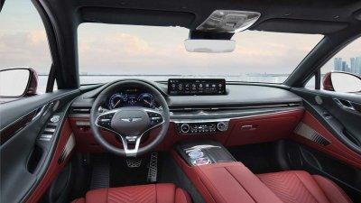 Genesis G80 Sport 2022 sở hữu cabin tối tân và cực kỳ mãn nhãn.