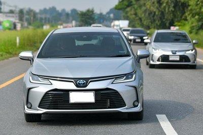 Toyota Corolla Altis mới mở bán tại Thái Lan đã lâu, trong khi Việt Nam vẫn là bản cũ 1