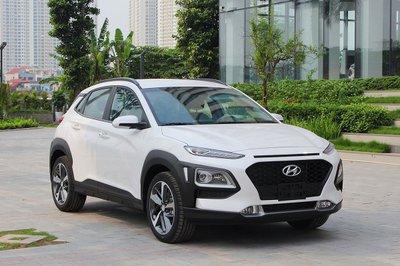 Thiết kế trẻ trung, nội thất sang trọng là ưu điểm nổi bật của dòng xe Hyundai Kona.