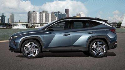 Dòng xe Hyundai Tucson mang tính thẩm mỹ cao kết hợp động cơ êm ái.