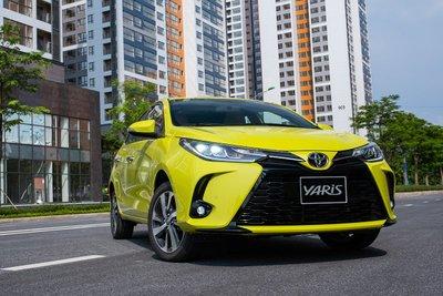 Toyota Yaris có giá niêm yết trên thị trường từ 668 triệu đồng.