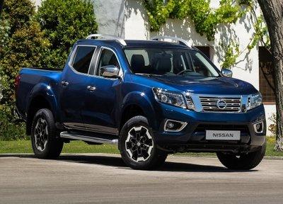 Vẻ ngoài nổi bật của mẫu xe bán tải Nissan Navara.