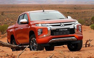 Dòng xe bán tải 5 chỗ Mitsubishi Triton.