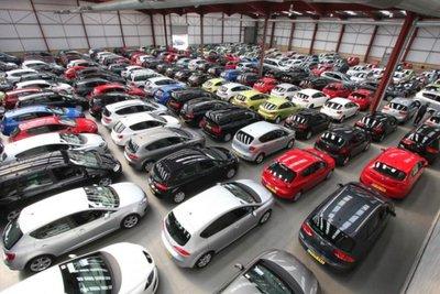 Thị trường xe cũ nửa đầu năm 2021.
