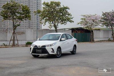 """Phân khúc xe hạng B tháng 6/2021: Toyota Vios tiếp tục cho Hyundai Accent """"hít khói"""" 1"""