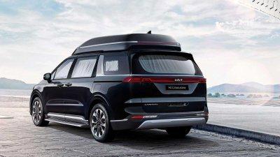 Kia Sedona 2022 Hi-Limousine bản mới cắt giảm chỗ ngồi, nâng tầm trải nghiệm ngồi xe.