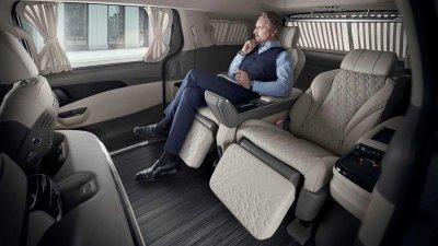 Kia Sedona 2022 Hi-Limousine hứa hẹn cung cấp khoảng thời gian ngồi xe cực đỉnh,