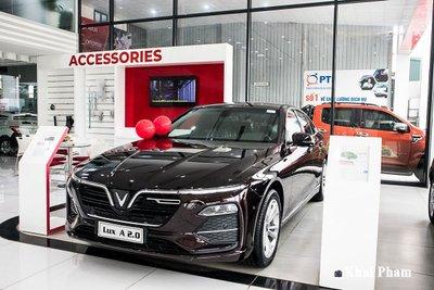 Trong tháng 6/2021, hãng xe Việt đã bán được 711 xe Lux A2.0.