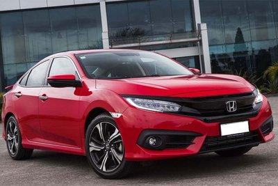 Honda Civic xếp cuối bảng xếp hạng doanh số sedan hạng C tháng 6 với 94 xe.