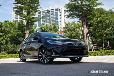 Chỉ có 134 xe Corolla Altis được bàn giao tới tay khách hàng trong tháng 6.