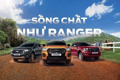 Ford Ranger kỉ niệm 20 năm có mặt tại thị trường Việt Nam.