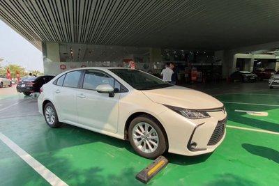 Video Toyota Corolla Altis 2022 bất ngờ xuất hiện tại Việt Nam a1