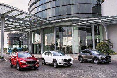 Trong tháng 6 Mazda CX-5 bị giảm nhẹ về doanh số.