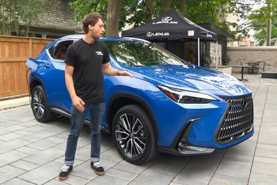 Trải nghiệm thực tế Lexus NX 2022, choáng ngợp bởi nội thất a1