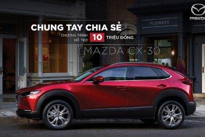 Mazda CX-3 cũng được hỗ trợ 10 triệu đồng trong tháng 7. 1