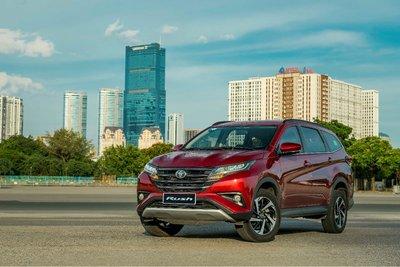 Chương trình khuyến mại dành cho Toyota Rush trong tháng 7.
