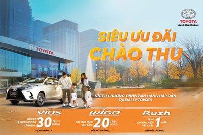 Đối với khách hàng thanh toán đầy đủ khi mua xe Wigo phiên bản mới từ ngày 07/6/2021 đến hết ngày 31/12/2021.