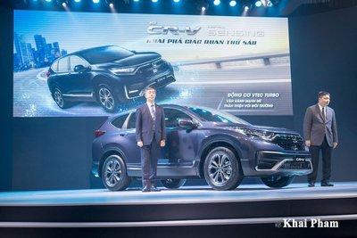 Giá xe Honda CR-V sản xuất năm 2020 trong tháng 7 sẽ còn từ 878 - 983 triệu đồng.