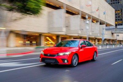 Honda Civic thế hệ mới dành cho thị trường Thái Lan dự kiến giống hệt xe ở Mỹ.