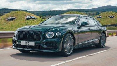 Bentley Flying Spur Hybrid 2022 chuẩn sang, sạch, nhanh khó sánh.