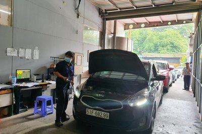 Hiện tại có một số lượng lớn ô tô đã quá hạn đăng kiểm tại nhiều địa bàn tỉnh, thành phố khác nhau