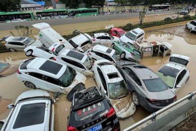 lũ lụt ở Trung Quốc