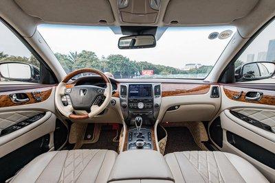 """Nội thất rộng """"mênh mông"""" bên trong chiếc Hyundai Equus Limousine VL500."""