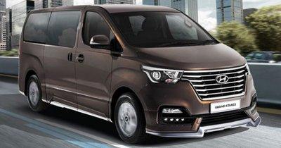 Hyundai Starex mới cập nhật trang bị, thông minh và an toàn hơn nữa.