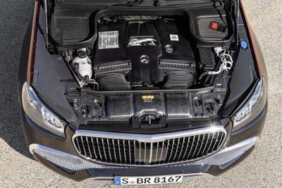 Mercedes-Maybach GLS 600 được trang bị động cơ V8.