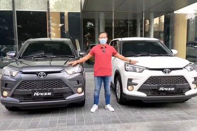 """Bóc tách"" hai bản Toyota Raize 2021, có đủ hấp dẫn đấu Kia Sonet? a2"