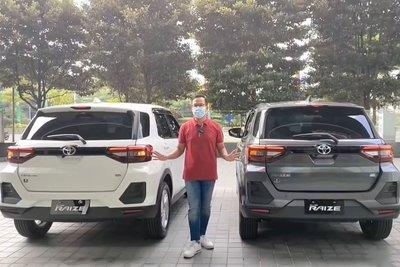 """Bóc tách"" hai bản Toyota Raize 2021, có đủ hấp dẫn đấu Kia Sonet? a9"