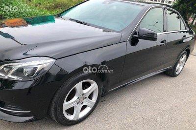 Dù lăn bánh 7 năm Mercedes E200 2014 mới có odo 8.000km.
