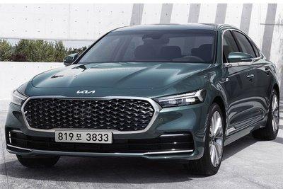 Bản facelift mới nhất Kia K9 ra măt hồi tháng 5/2021 tại Hàn Quốc.