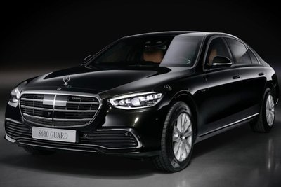 Mercedes-Benz S-Class bọc thép