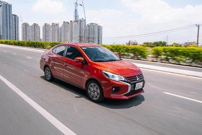 Mitsubishi Attrage hỗ trợ cao nhất 24 triệu đồng lệ phí trước bạ trong tháng 8. 1