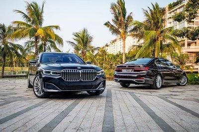 BMW 7-Series giảm giá hơn nửa đồng, trước thềm 'Mẹc' S-Class 2021 sắp ra mắt Việt Nam.